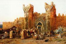 Moroccan paintings