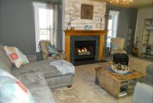 Family Room and Fireplaces / DIY, family space, entertaining, a place to call home