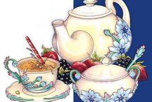 чай и вкусняшки