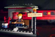 Harry Potter lego / Photo series I did using my Harry Potter lego.