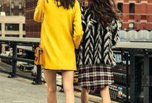 Bloggers / Golden Edition / #itgirls #5avenue #ny #streetstyle