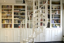 Bookshelves, Bookstores and Libraries
