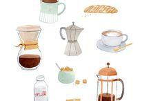 kávézó minta