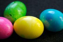 Nazaj k naravi: Naravna barvila za velikonočna jajca :-))