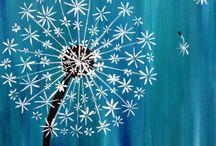 Malování akryl
