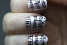 Show me your nails, your eyes, your lips.. / Nails, beauty, makeup inspired by music - music to the eyes!