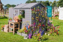RHS Flower Show Tatton Park 2016 / Garden Library, Garden Hideaway