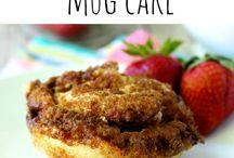 Mug cakes / Egg free