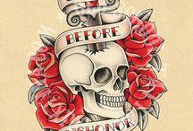 Tatto old school