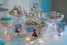 Isla birthday / Frozen theme