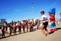 Divertimento in spiaggia a Rimini / All'Hotel Crystal di Torre Pedrera di #Rimini il divertimento è assicurato per grandi e piccini. In spiaggia i nostri animatori vi faranno divertire. La spiaggia è attrezzata con giochi per bambini e il telo mare è incluso.