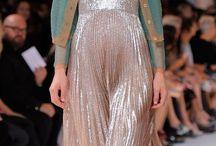 Pleated dress / skirt / blouse / pant