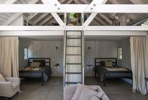 Converted Garage / Workspaces made into cozy dwelling spaces / by Dana Dickey