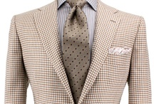 Kiton / The finest ready-to-wear clothing, basic suits cost between five and ten thousand dollars at retail-they're known for exceptional fabrics & copious handwork. The pinacle of ready-to-wear tailoring.