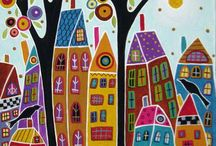 ART / Folk art is my favorite!   / by Gayle Barton