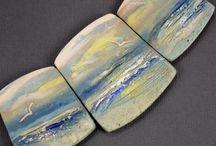 panorama graduated clay beads