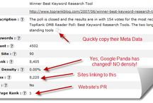 Powerful Keyword Research & Website Ranking Tools / This board contains information about Powerful online tools that help you quickly and easily find SEO Keyword Research, Website Rankings, Keyword Competition Stats, Keyword Brainstorming, Keyword and Website Analytics, Best Domain Names for SEO, and more!