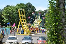 2015 Oaks Amusement Park in Portland / Oaks Park is a small amusement park includes midway games, about two dozen rides that operate seasonally and picnic grounds.