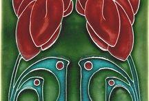 Art Nouveau and Nouveau inspired