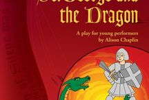 The Legend of St. George and the Dragon / Loads of lovely info connected to the play script, 'The Legend of St. George and the Dragon'. Suitable for KS2 (ages 8 upwards). Cast size 20+. One act. Gentle comedy. Brilliant for schools, youth theatres and drama clubs. Perfect for St George's Day celebrations!