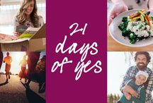 21 Days of Yes / Start 2017 on a healthy note