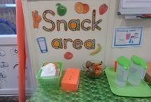 Snack area