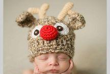 Foto bebe de Crăciun