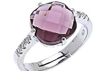 Argentarvi anelli con zirconi / Anelli in argento con zirconi