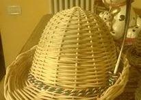 cesti di Mara / lavorazione a mano di Midollino ( legno decorativo) presso Polcenigo SAGRA DEI THEST 345°