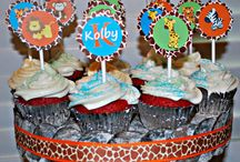 Frosty Cupcake Design  / Party Printables  / by Jamie Frost