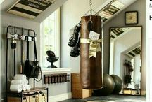 ❤ Fitness Room Home