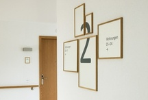 Signage  / Way finding guiding  / by adelle lin