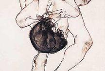 Egon Schiele Art