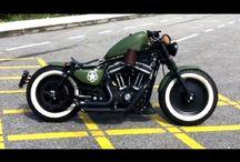 Harley sportster 883 / Bike Porn / by Rick Mendez