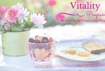 Vitality Programme / The Vitality Programme is a total health transformation system that helps women who have spent their lives dieting stop worrying about weight loss and start taking care of their health, so that they never have to diet again. Because when you're healthy your weight takes care of itself. Team VTV x