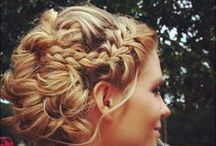 bridesmaid hair / by Sarah Sweetman
