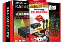Evde Karaoke için KaraokeBOX Çıktı / Evde Karaoke Eğlencesi : KaraokeBOX