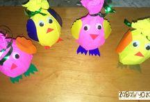 Creative ideas for kids / Zabawy plastyczne z dzieckiem