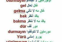 Turkish/Arabic