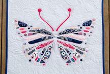 m i n i  q u i l t s ✽ / Adorable mini quilts with Dare and Essentials II Fabrics!  / by Pat Bravo