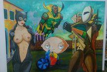 Antonio Vitale Pop Surrealism Gallery / Pop Surralism art, Pop Surrealism, Lowbrow