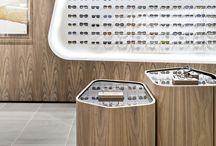 {lighting design }Retail display shelfes