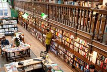 Amazing Bookstores / Imagine a relaxing Saturday afternoon browsing the bookshelves in a charming indie bookstore or wandering through the endless aisles in one of these amazing places.