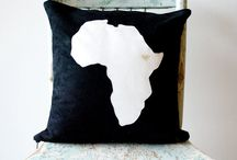 Lounge / Soft African decor