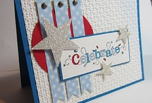 Handmade Cards- Patriotic / Labor Day, Memorial Day & July 4th cards