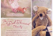 The Red Thread Collection / Bunnies by The Bay's Red Thread Collection allows you to purchase a baby toy to make your little bunny's life more fun and the opportunity to enrich an orphan's life as well.