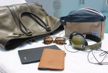 Travel Essentials  / Items for the stylish traveler / by Andrew Villagomez