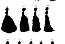 vestidos de la edad victorina