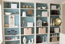 Bookshelves / Lovely places to hold books!