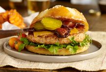 Burgers! / Delicious and healthy alternatives to traditional burgers.